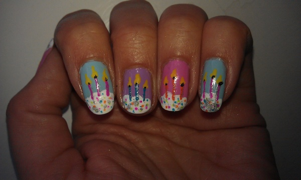 Cake Nail Art Design : 301 Moved Permanently